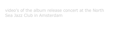 Wolfgang Maiwald Trio - North Sea Jazz Club